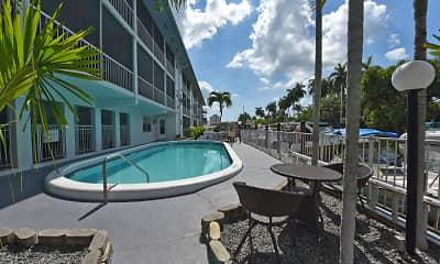 Pool, Marine Plaza, 1