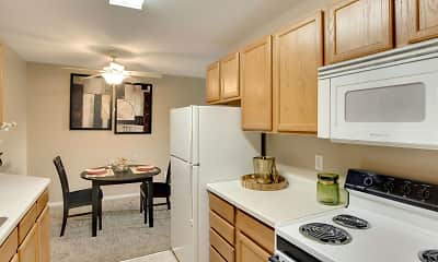 Kitchen, Medicine Lake Apartments, 1