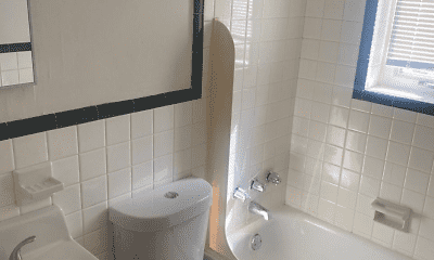 Bathroom, Skytop Village, 2