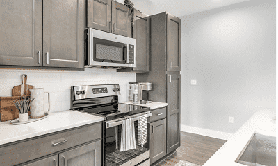 Kitchen, The Jacqueline Apartments, 1