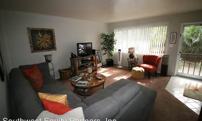 Living Room, Pacific Crest Apartments, 1