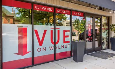 Community Signage, Vue On Walnut Student Living, 2