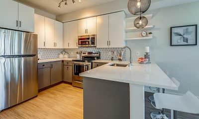 Kitchen, Nico Apartments, 1