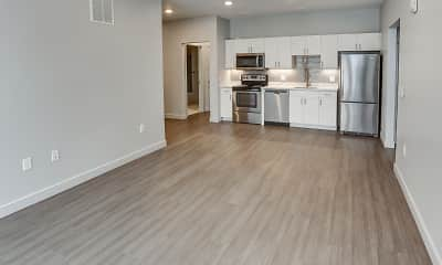 Kitchen, VIDA Apartments & Townhomes, 1