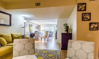 Living Room, PROSPER Riverdale, 2