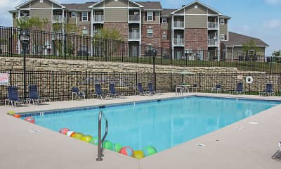 Pool, Cimarron Terrace, 0