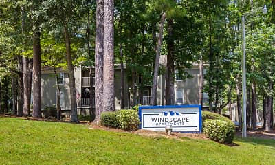 Community Signage, Windscape Apartments, 1