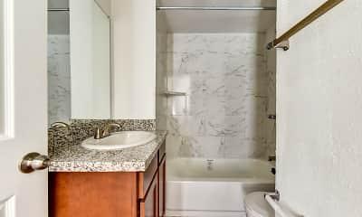 Bathroom, Westward Square, 2