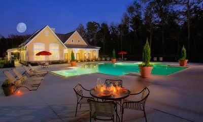 Pool, Garden Springs, 1