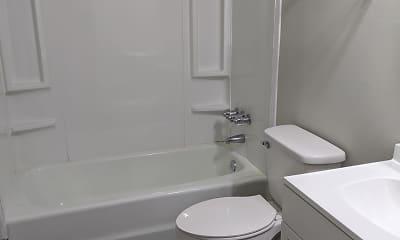 Bathroom, 555 East Apartment Homes, 2