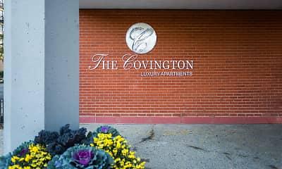 Community Signage, The Covington, 1