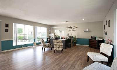 Living Room, Cedar Glen, 1