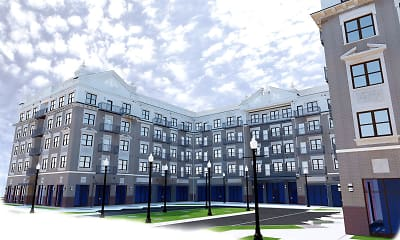 Building, Residences at Playfair, 1