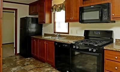 Kitchen, Pine Ridge MHC, 1