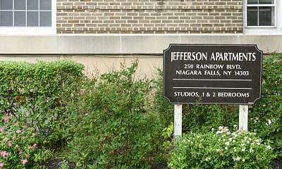 Community Signage, The Jefferson Apartments and Suites, 2