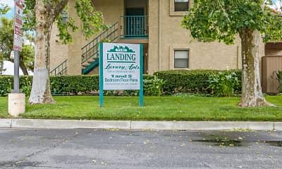 Community Signage, The Landing, 2