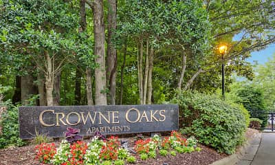 Community Signage, Crowne Oaks, 2