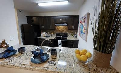 Kitchen, Dockside Apartments, 2