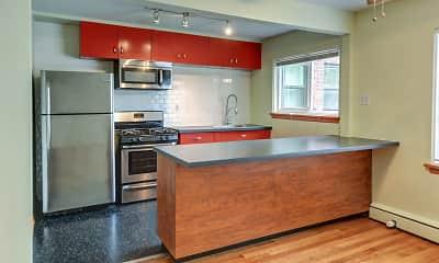 Kitchen, East River Terrace, 2