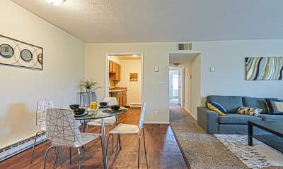 Dining Room, Oakwood Apartments, 0