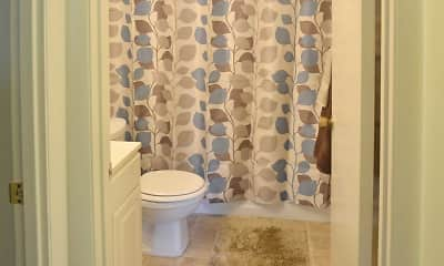 Bathroom, Anderson Square Apartments, 2