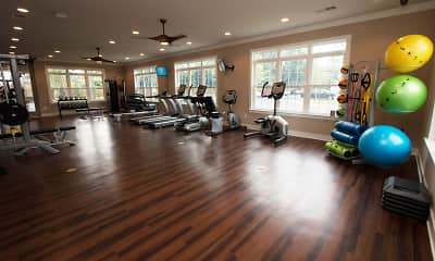 Fitness Weight Room, Parc at Broad River, 2