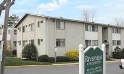 Building, Riverview Apartments, 1