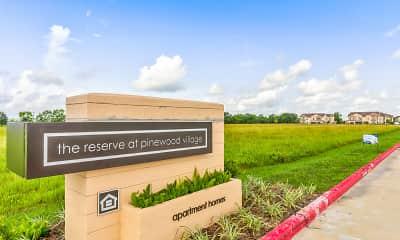 Community Signage, Reserve at Pinewood Village, 2