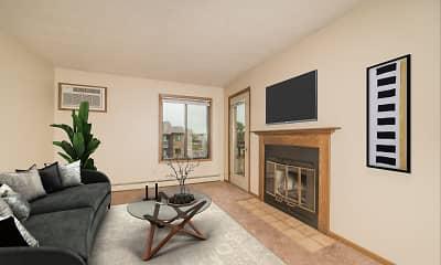 Living Room, Oxbow Estates, 1