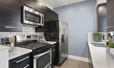 Kitchen, South Hayworth Lofts, 0