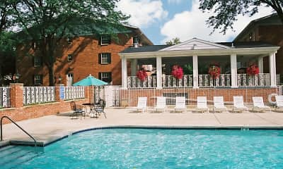 Pool, The Carolina Apartments, 2