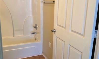 Bathroom, Mountain View Apartments, 2