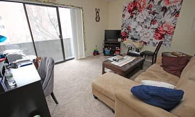 Living Room, Oakland Apartments, 0
