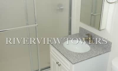 Bathroom, Riverview Towers, 0