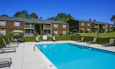 Pool, East Gate Apartments, 0
