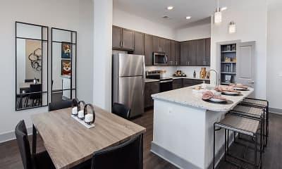 Kitchen, Mosby University City, 1
