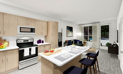 Kitchen, The Addison, 0