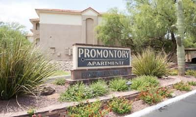 Community Signage, Promontory, 0