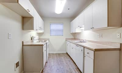 Kitchen, Aplin Apartments, 1