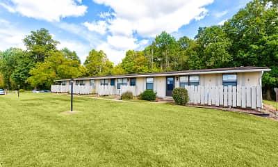 Building, Parkville Apartments, 1