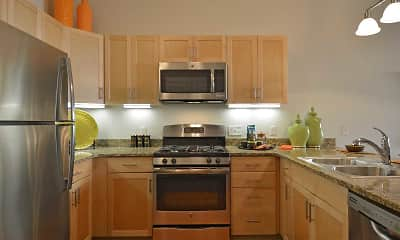 Kitchen, Fairfield Plaza at Farmingdale Village, 1