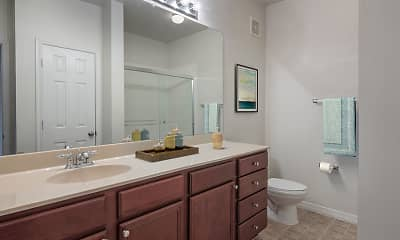 Bathroom, The Manor Homes of Arborwalk Apartments, 2
