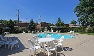 Pool, River Run Apartments, 1
