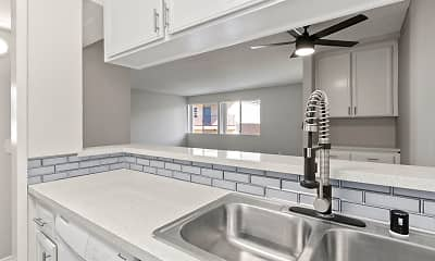 Kitchen, Riverbridge Apartments, 0