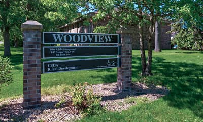 Community Signage, Woodview Apartments And Townhomes, 2
