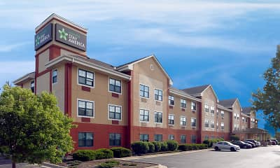 Building, Furnished Studio - Indianapolis - Airport, 1