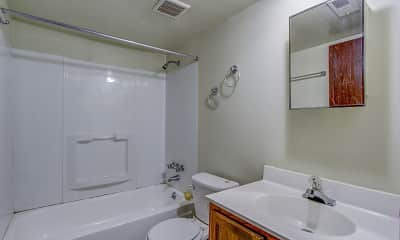 Bathroom, Hep Park Village, 2