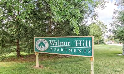 Community Signage, Walnut Hill Apartments, 2