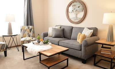 Living Room, Bridgewater Apartments, 0