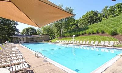 Pool, Crane Village Apartments, 0